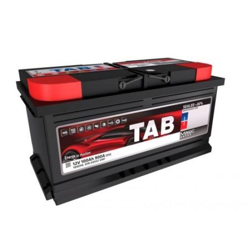Купить Аккумулятор TAB Magic 100 Ah 900A (0) Euro Низкий