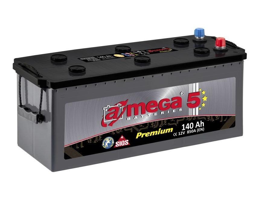 Купить Аккумулятор A-MEGA Premium 140 Ah (3) 850 A