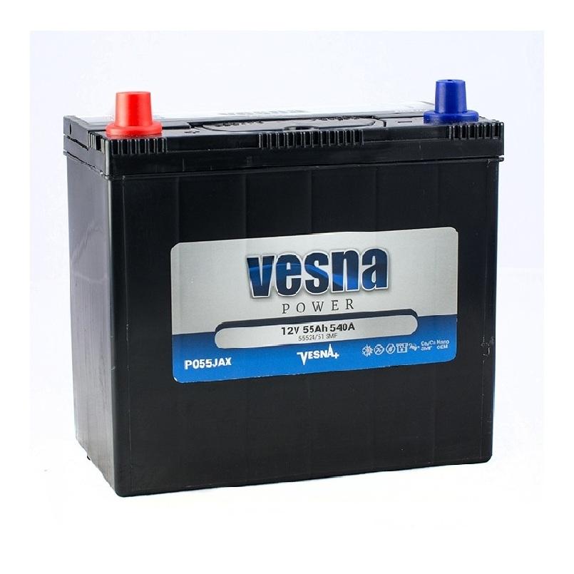 Купить Аккумулятор Vesna Power 55 Ah (0) Asia 540A R+