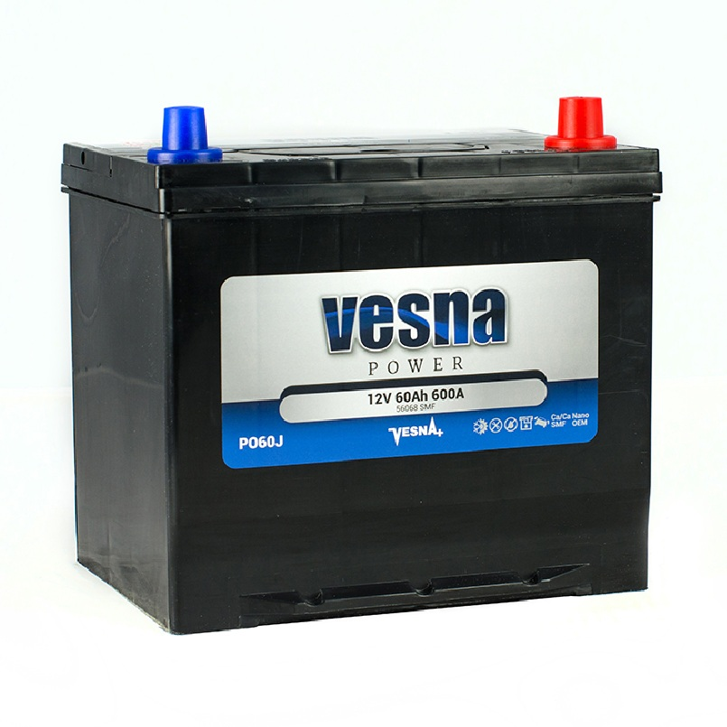 Купить Аккумулятор Vesna Power 60 Ah (0) Asia 600A