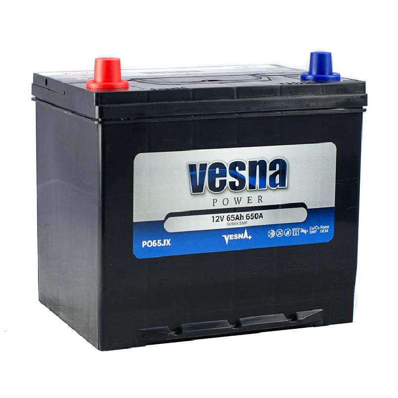 Купить Аккумулятор Vesna Power 65 Ah (1) Asia 650A L+