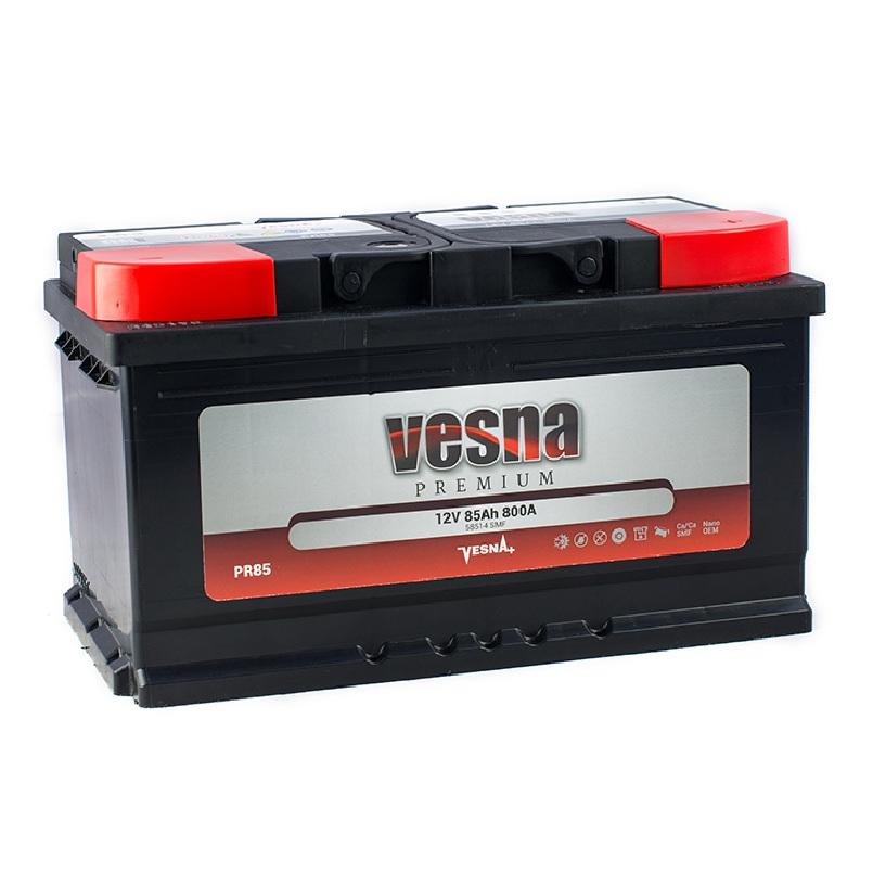 Купить Аккумулятор Vesna Premium 85Ah (0) 800 A
