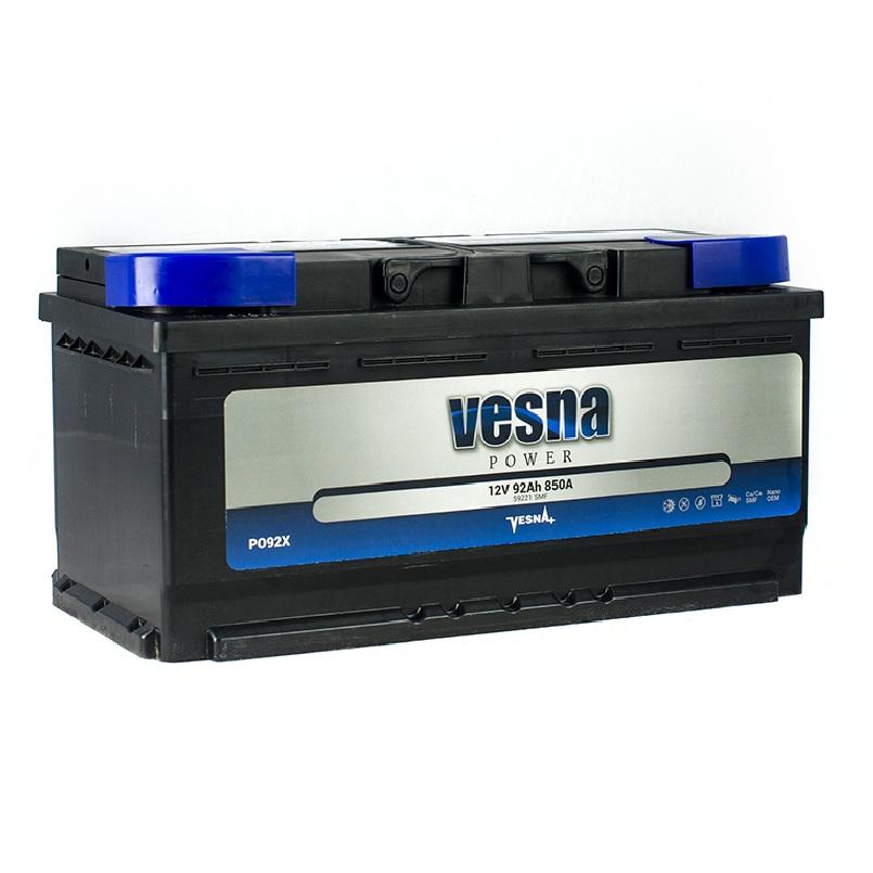 Купить Аккумулятор Vesna Power 92 Ah (1) 850A L+
