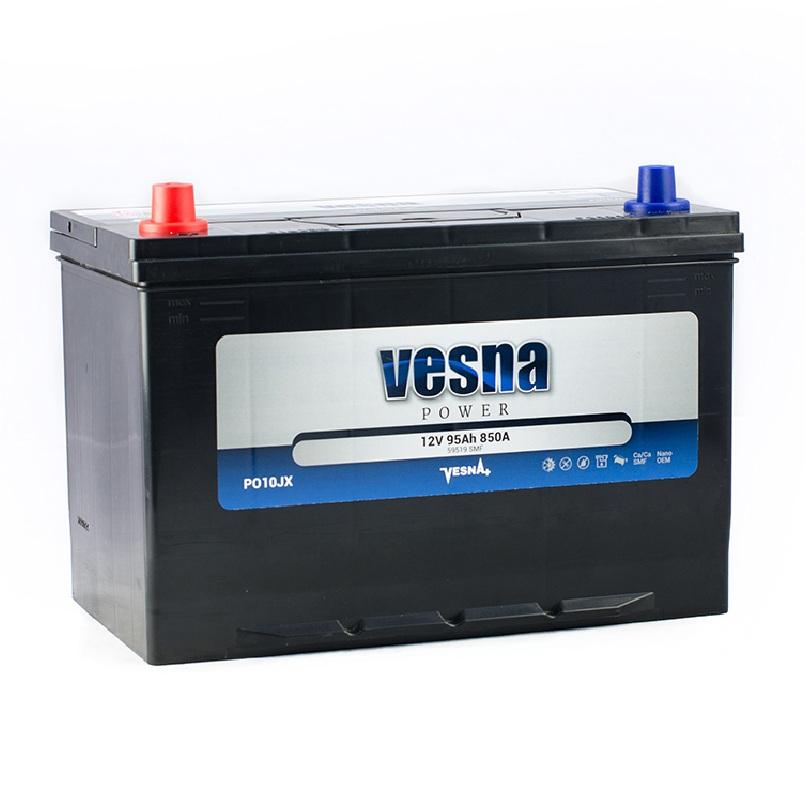 Купить Аккумулятор Vesna Power 95 Ah (1) Asia 850A L+