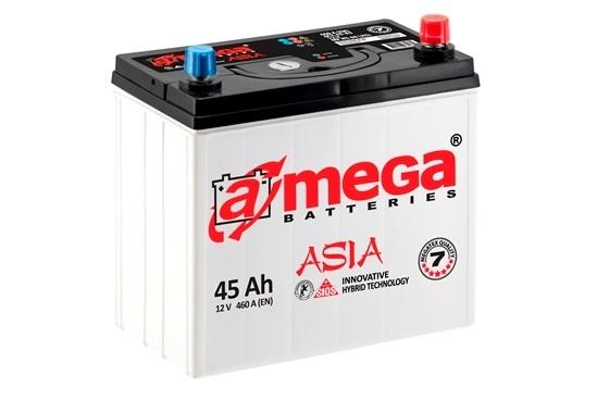 Купить Аккумулятор A-MEGA Asia (М7) 45 Ah (0) 460 A