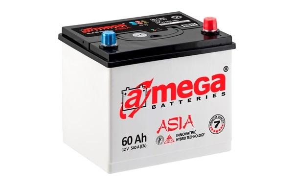 Купить Аккумулятор A-MEGA Asia (М7) 60 Ah (0) 540 A