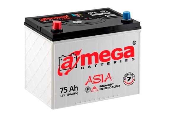 Купить Аккумулятор A-MEGA Asia (М7) 75 Ah (0) 690 A