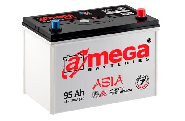 Купить Аккумулятор A-MEGA Asia (М7) 95 Ah (0) 810 A