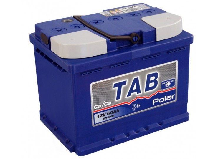 Купить Аккумулятор Tab Polar Blue 60 Ah (0) Euro 600 A