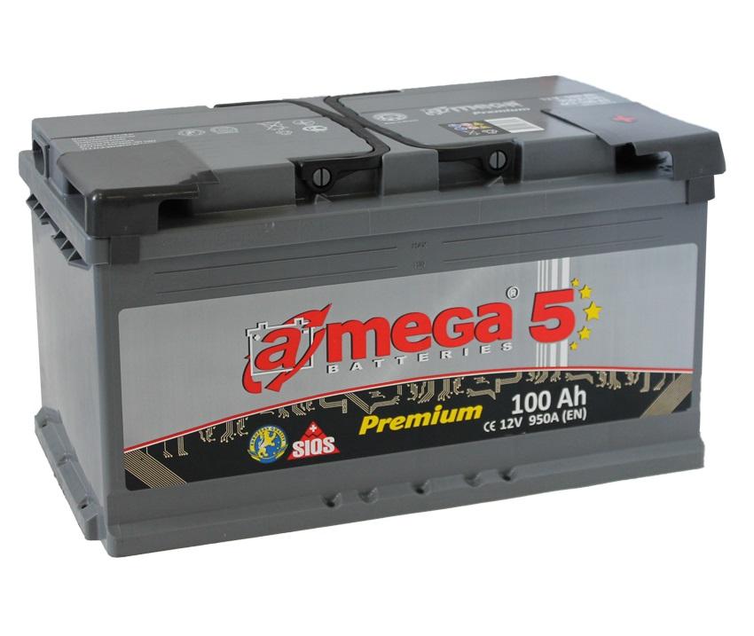 Купить Аккумулятор A-MEGA Premium 100 Ah (0) 950 A