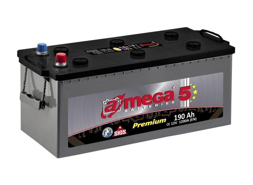 Купить Аккумулятор A-MEGA Premium 225 Ah (3) 1300 A