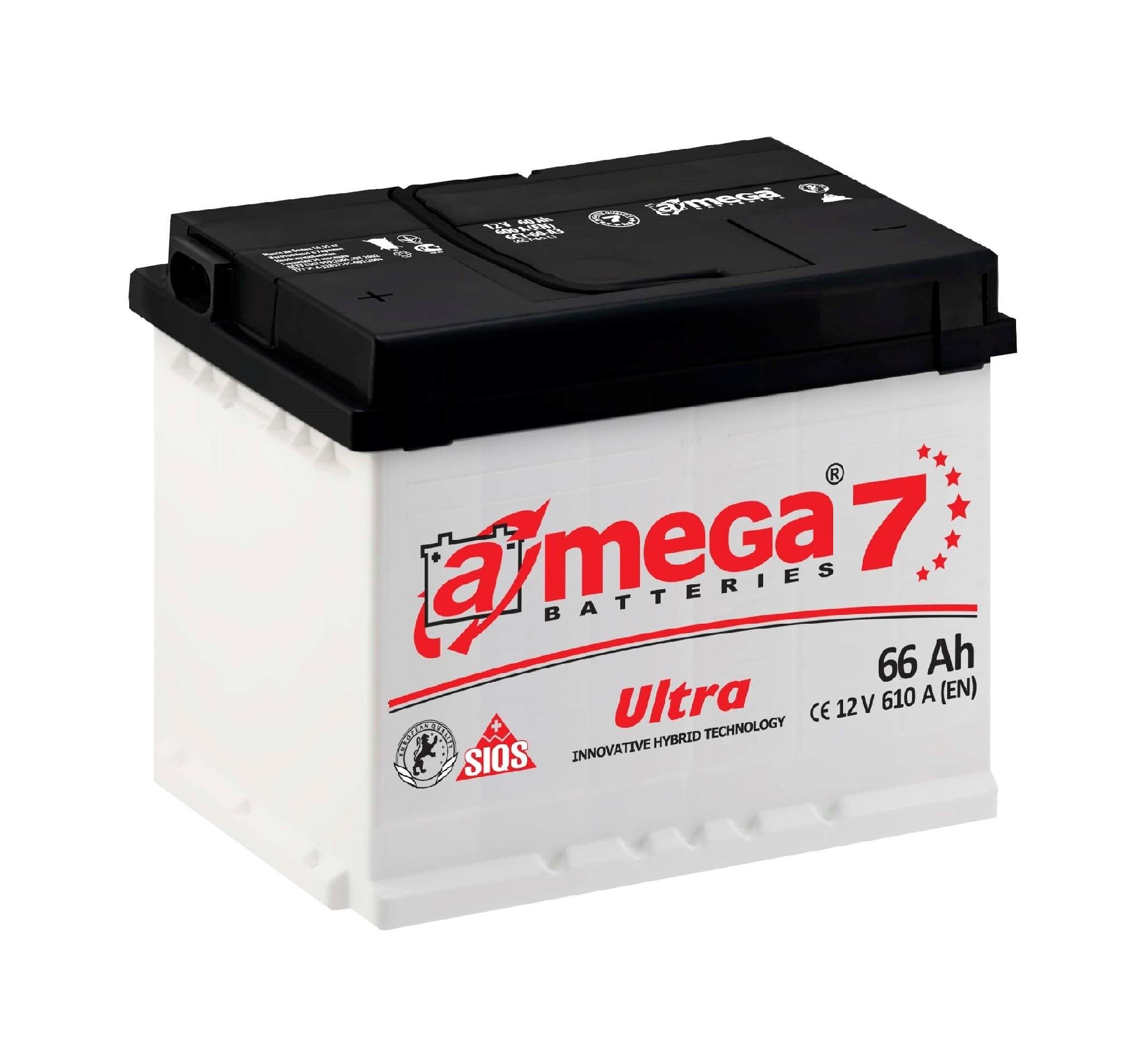 Купить Аккумулятор A-MEGA Ultra 66 Ah (0) 640 A