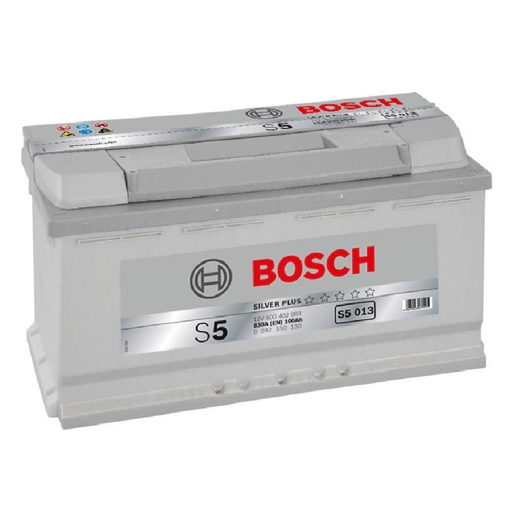 Купить Аккумулятор Bosch 100Ah S5 Silver (0) 830A S5013