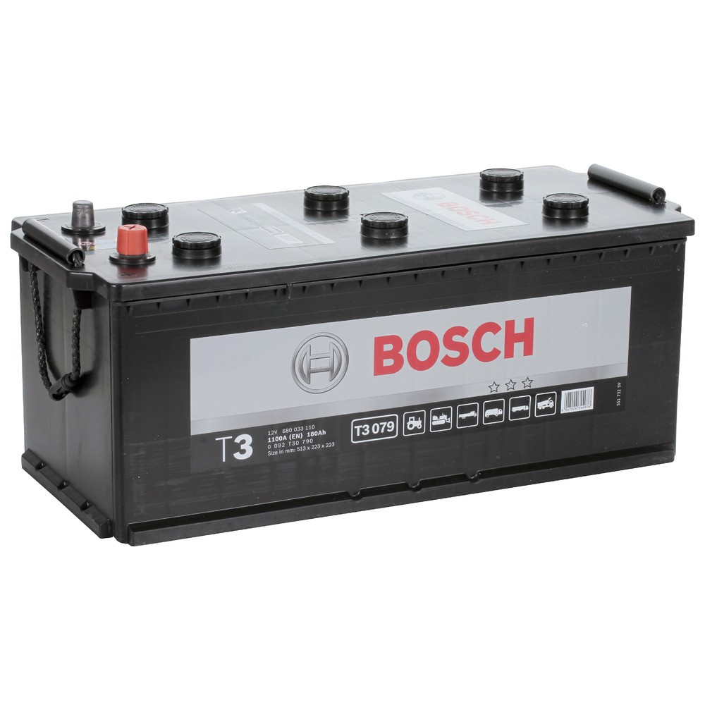 Купить Аккумулятор Bosch 180Ah T3 (0) 1100A (T3079)
