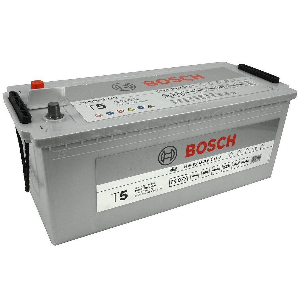 Купить Аккумулятор Bosch 180Ah T5 Heavy Duty Extra (1) 1000A