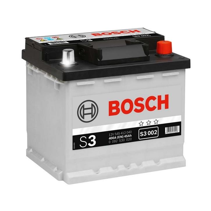 Купить Аккумулятор Bosch 45Ah S3 Silver (0) 400A