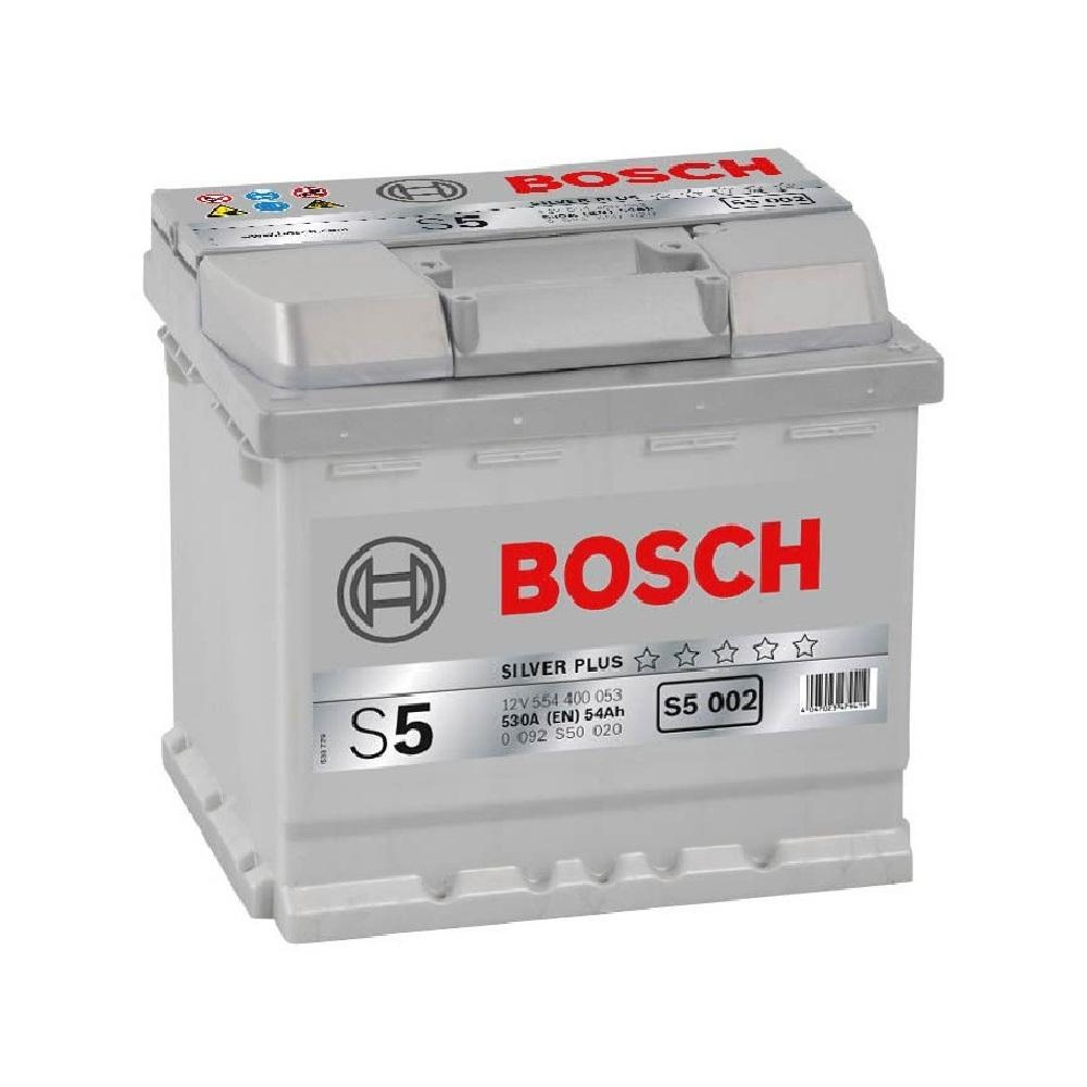 Купить Аккумулятор Bosch 54Ah S5 Silver (0) 530A (S5002)