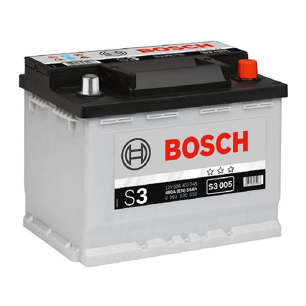 Купить Аккумулятор Bosch 56Ah S3 Silver (1) 480A S3006
