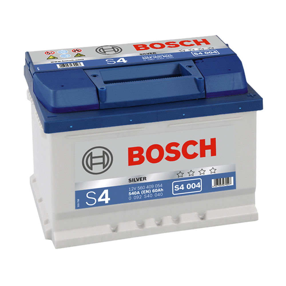 Купить Аккумулятор Bosch Silver S4 60Ah (0) 540A низкий