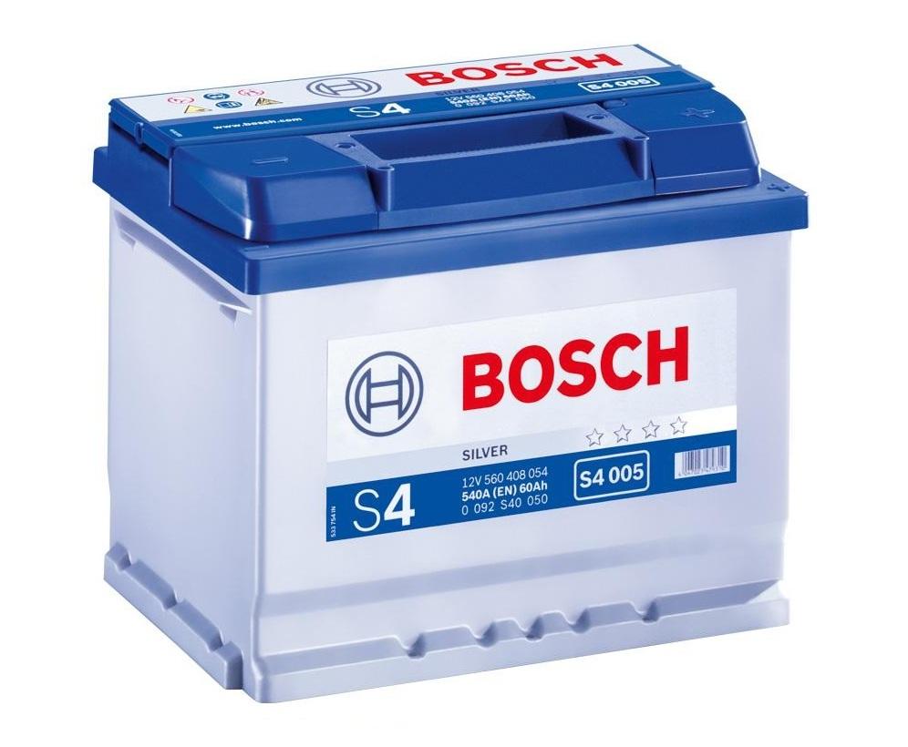 Купить Аккумулятор Bosch 60 Ah (0) S4 Silver 540A (S4005)