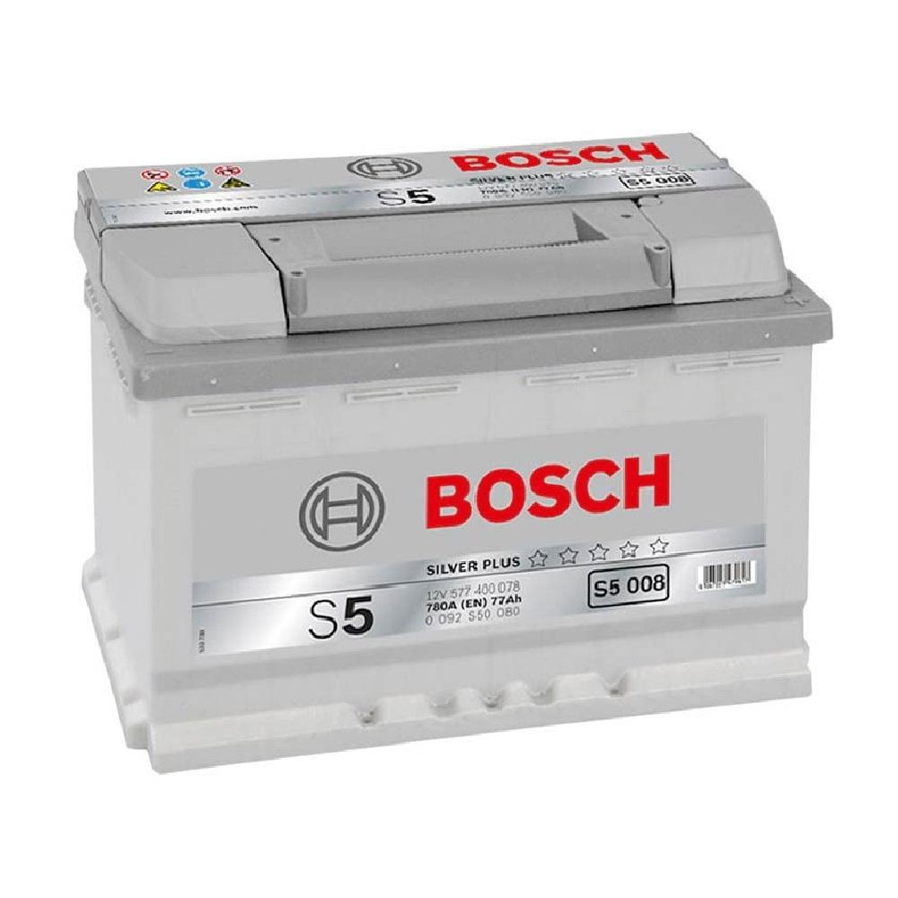 Купить Аккумулятор Bosch 77 Ah (0) S5 Silver 780A S5008