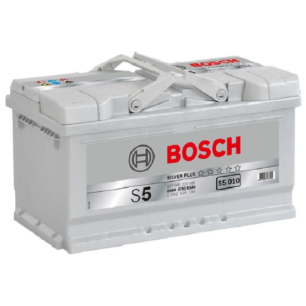 Купить Аккумулятор Bosch 85 Ah (0) S5 Silver 800A (S5010)