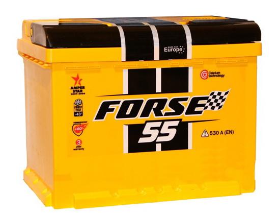 Купить Аккумулятор Forse 55 Ah (0) 510A 6СТ-55