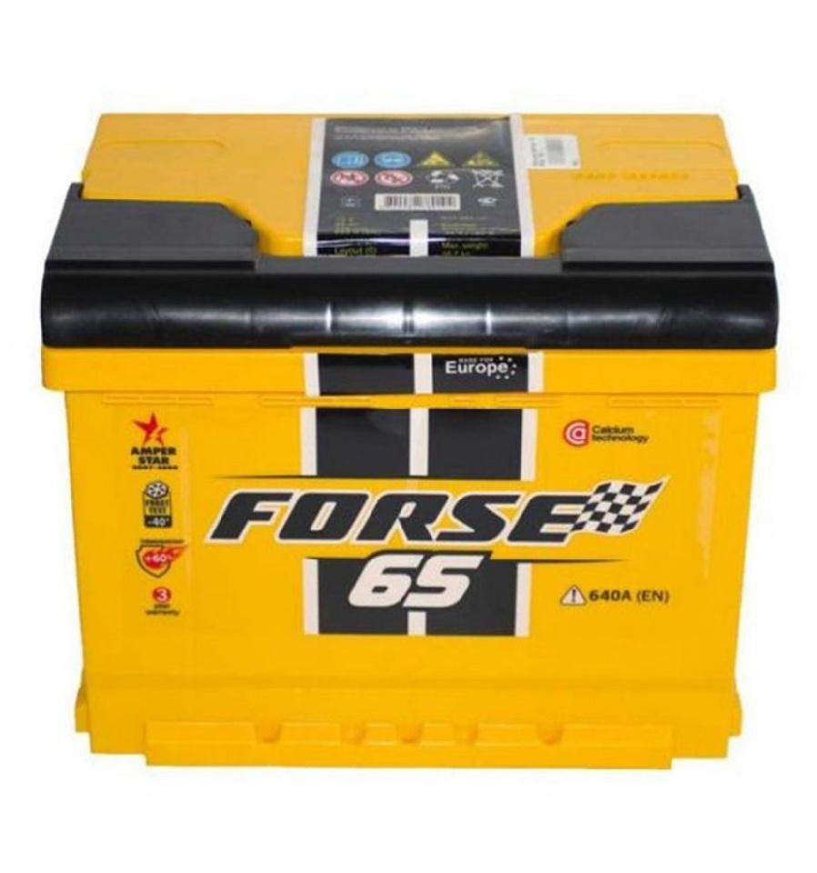 Купить Аккумулятор Forse 65 Ah (0) 640A 6СТ-65