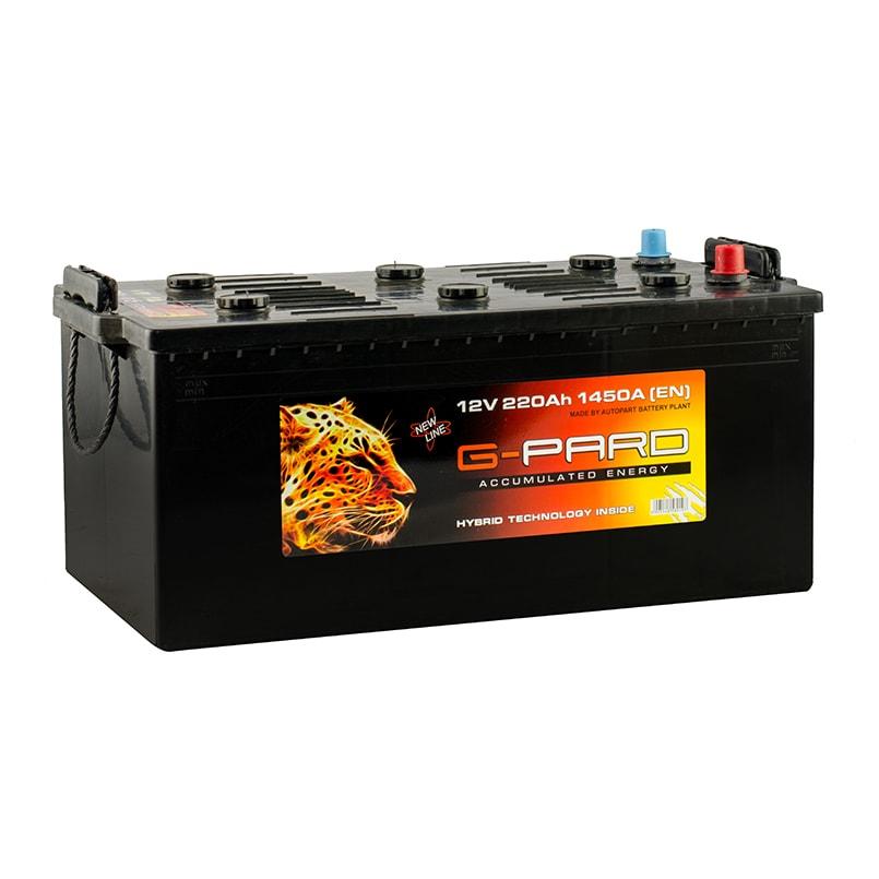 Купить Грузовой аккумулятор G-Pard Standard 220 Ah (3) 1450A