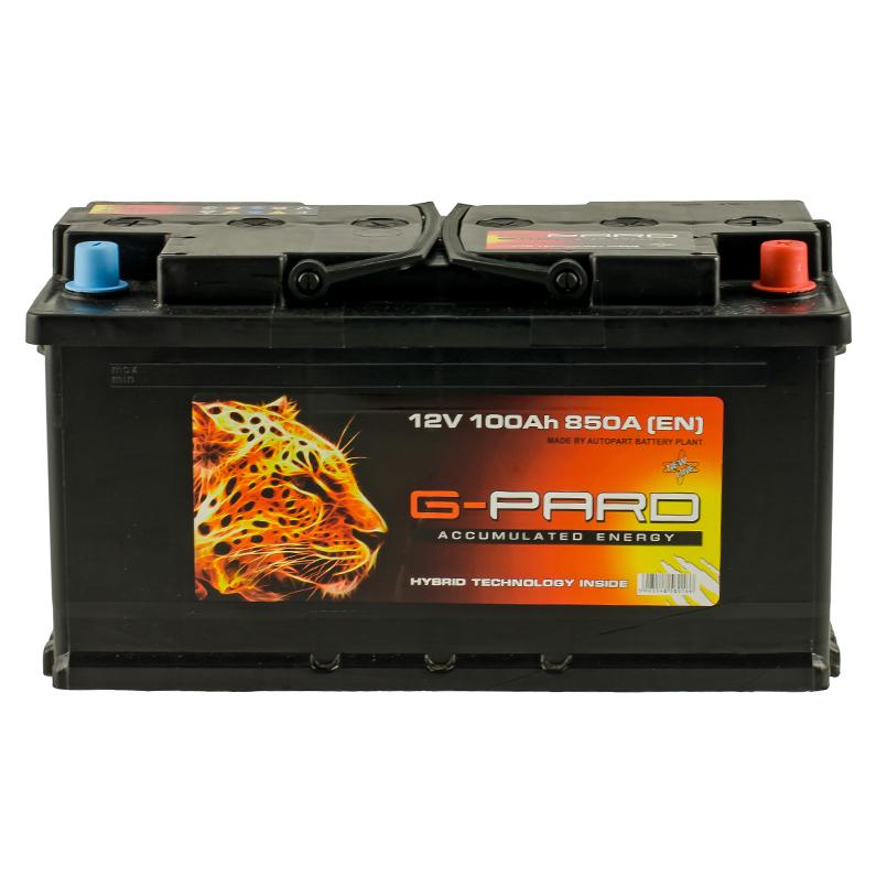 Купить Аккумулятор G-Pard Standart 100 Ah (0) 850A R+