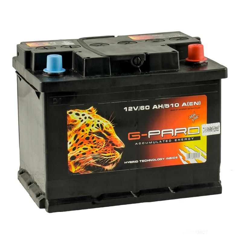 Купить Аккумулятор G-Pard Standart 60 Ah (1) 510A L+