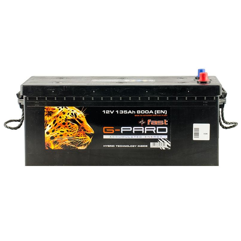 Купить Грузовой аккумулятор G-Pard Fast 140 Ah (3) 950A