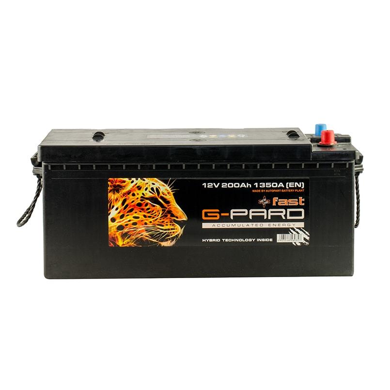 Купить Грузовой аккумулятор G-Pard Fast 200 Ah (3) 1350A