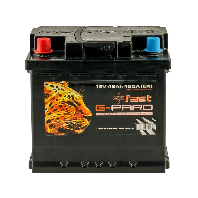 Купить Аккумулятор для авто G-Pard Fast 48 Ah (1) 450A L+