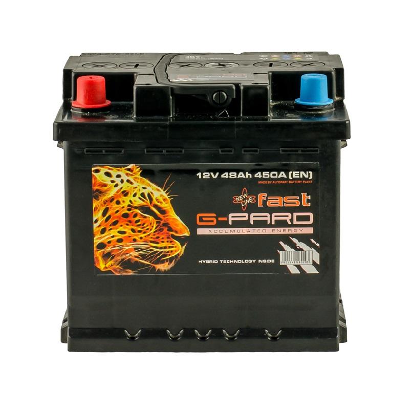 Купить Аккумулятор G-Pard Fast 48 Ah (0) 450A R+