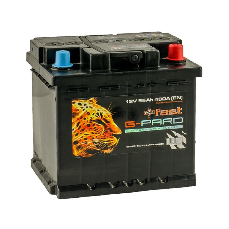 Купить Аккумулятор G-Pard Fast 55 Ah (0) 480A R+