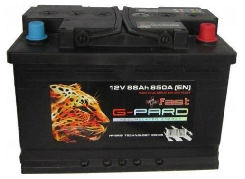 Купить Аккумулятор G-Pard Fast 88 Ah (1) 850A L+
