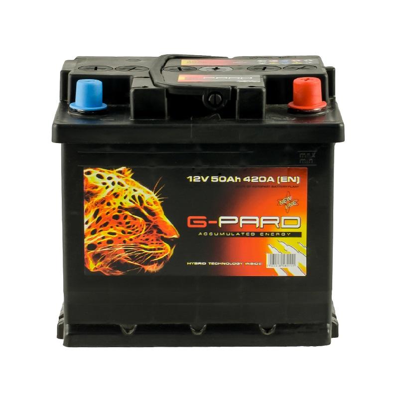 Купить Аккумулятор G-Pard Standart 50 Ah (1) 420A L+