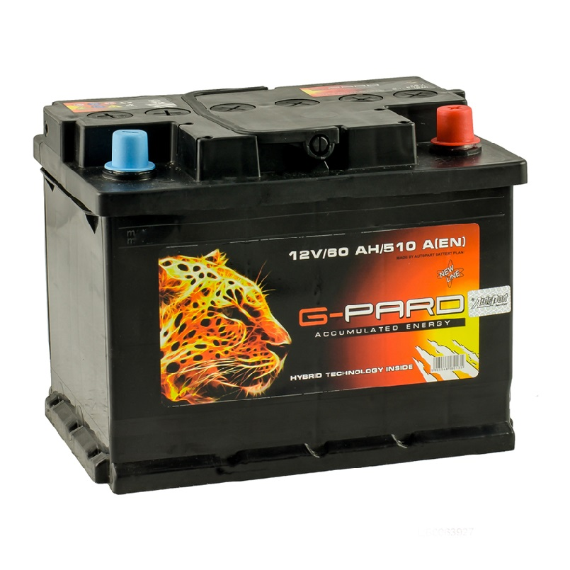 Купить Аккумулятор G-Pard Standart 60 Ah (0) 510A R+