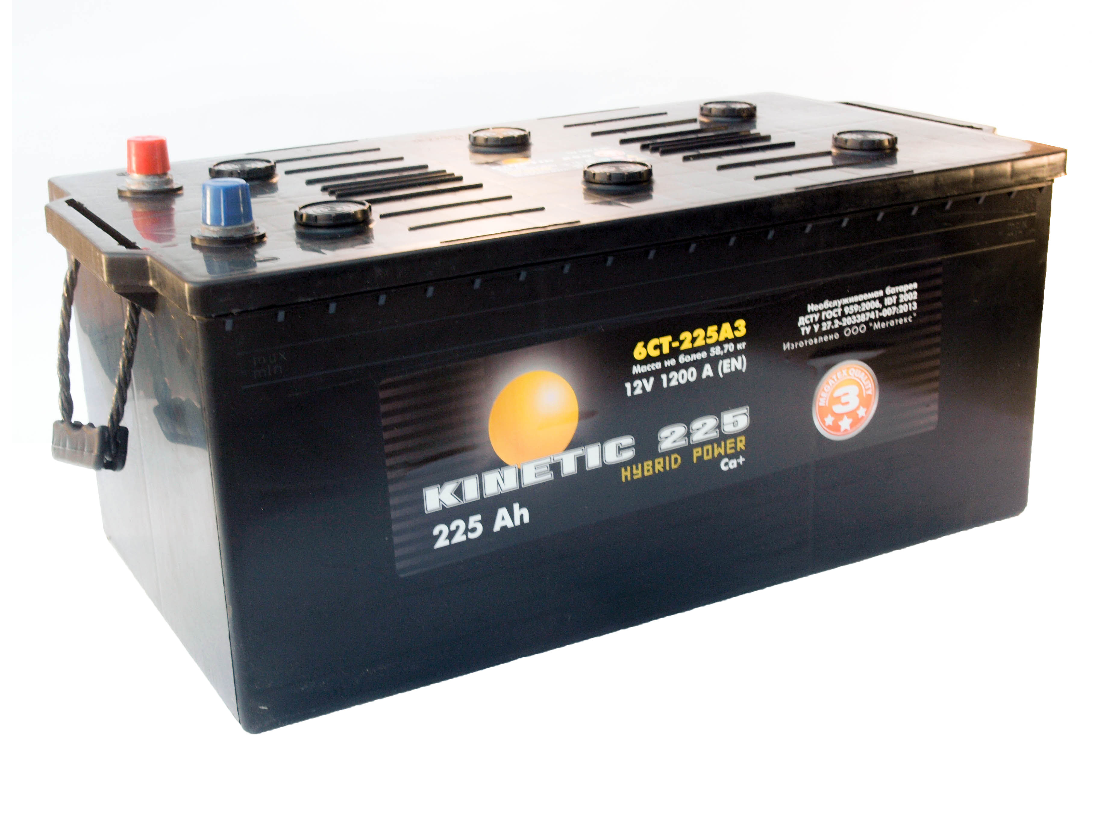 Купить Грузовой Аккумулятор Kinetic Hybrid 190 Ah (3) 850 A