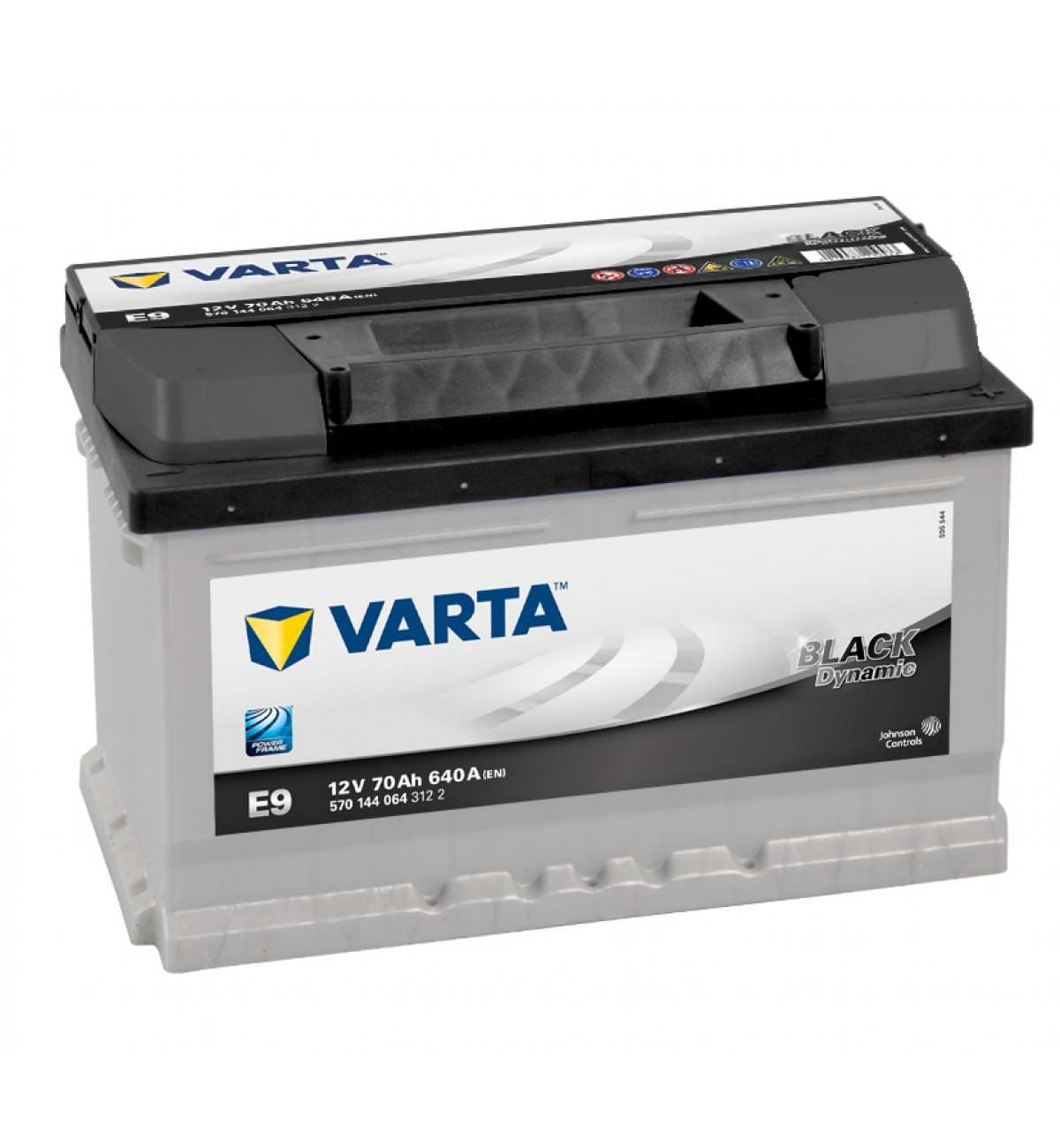 Купить Аккумулятор Varta Black Dynamic 70Ah (0) 640A (E9)