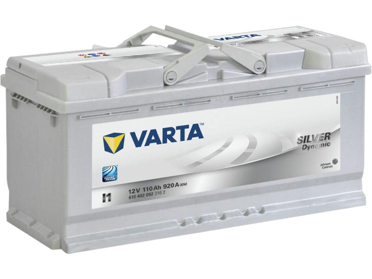 Купить Аккумулятор Varta 110Ah Silver Dynamic (0) 920A (L1)