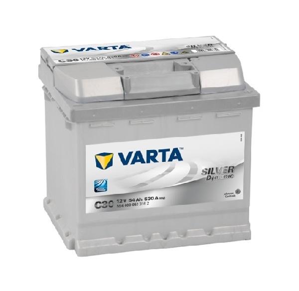 Купить Аккумулятор Varta Silver Dynamic 54Ah (0) 530A (C30)