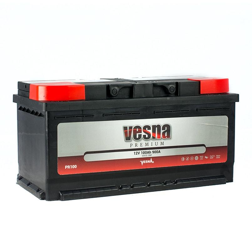 Купить Аккумулятор Vesna Premium 100 Ah (0) 900 A