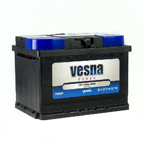 Купить Аккумулятор Vesna Power 60 Ah (0) 600A