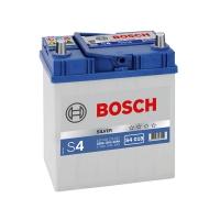 Bosch 40Ah S4 Silver (1) 330A Asia тонкая клемма
