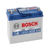 Bosch 45Ah S4 Silver (0) 330A Asia тонкая клемма