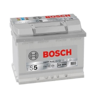 Bosch 63Ah S5 Silver (1) 610A S5006 левый плюс