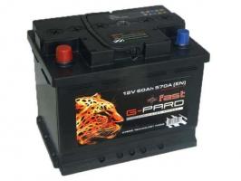 G-Pard Fast 66 Ah (0) 680A R+