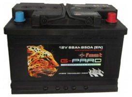 G-Pard Fast 88 Ah (0) 850A R+